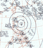 Typhoon Ida surface analysis 6 August 1964.png
