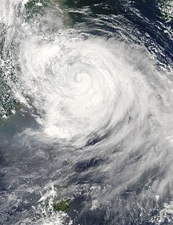 Typhoon Matsa Pacific typhoon in 2005
