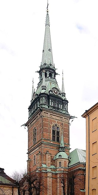 German Church, Stockholm - Image: Tyska Kyrkan March 2007