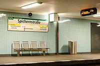 U-Bahnhof Spichernstraße (U3) 20130727 5.jpg