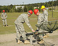 U.S. Soldiers train to assemble and erect an antenna at Fort Gordon, Ga., April 17, 2009 090417-A-NF756-009.jpg