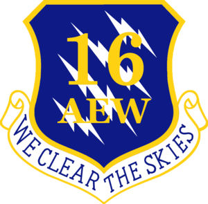 16th Air Expeditionary Wing - Image: USAF 16th Air Expeditionary Wing
