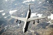 USAF C-5 Galaxy in flight