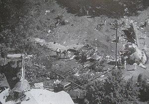 USAir Flight 1016 - Wreckage of Flight 1016