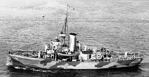 USCGC Mohawk (WPG-78) during WWII