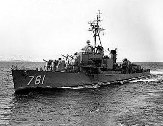 USS <i>Buck</i> (DD-761) Allen M. Sumner-class destroyer