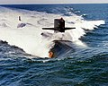 USS Dallas (SSN-700) underway in 1982.JPEG