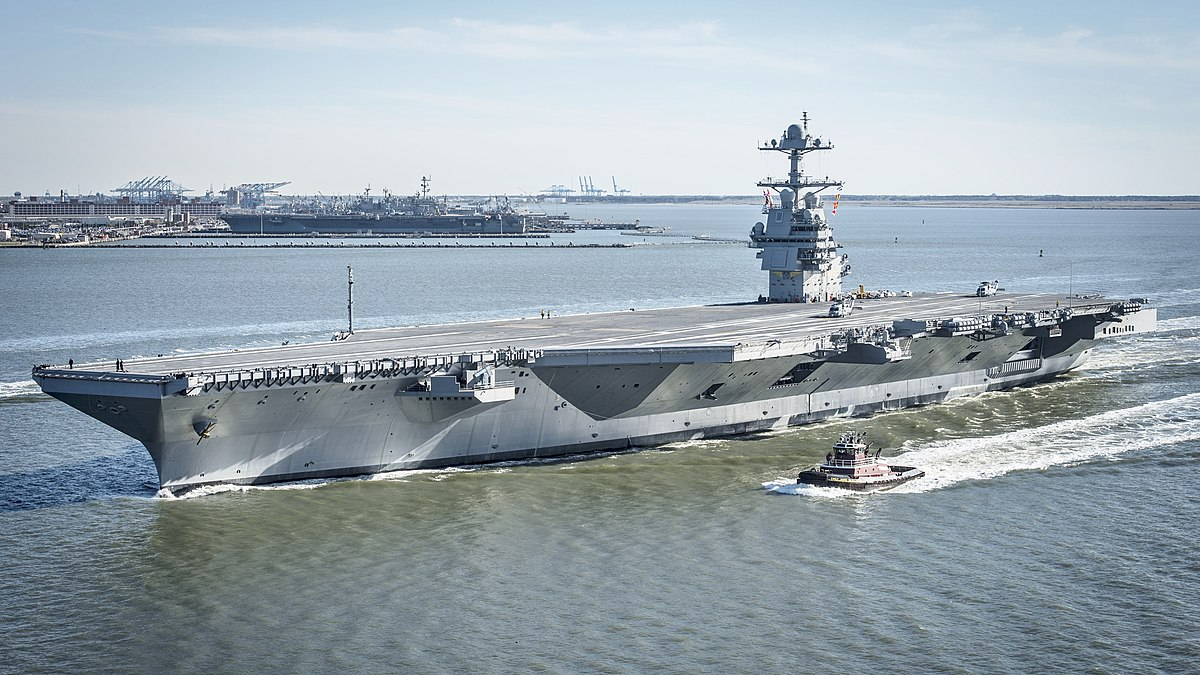USS Gerald R. Ford - Wikipedia