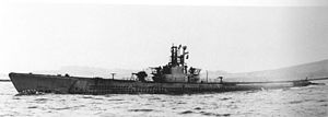 Grouper off Mare Island 17 July 1945