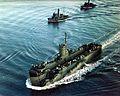 USS LSM-152 underway off Charleston Navy Yard in 1944.jpg