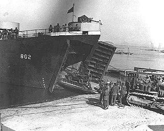 USS Hamilton County - LST-802