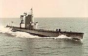 USS Redfin as Radar Picket
