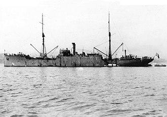 USS Vestal - Image: USS Vestal (AR 4), circa the early 1920s (NH 43621)