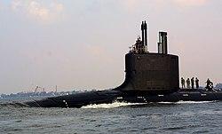 اهم اليات البحرية 250px-USS_Virginia_%28SSN-774%29_bravo_sea_trials