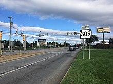 Pennsylvania Route 309 - Wikipedia