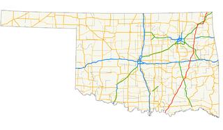 U.S. Route 69 in Oklahoma