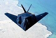 Un F-117 furtif