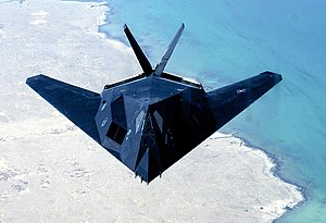 Elevon - Image: US Air Force F 117 Nighthawk