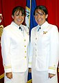 US Navy 040730-N-0000T-001 Identical twins Lt. j.g. Deborah and Christa Kieszek of Jackson, Tenn., earned their wings along with 14 other new Navy Aviators.jpg