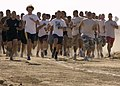 US Navy 050611-N-6060O-047 Over 750 Navy and Marine Corps personnel and dependents along with Kings County community members participate in the 12th Annual Marion Carl Memorial Mud Run on board Naval Air Station Lemoore, Calif.jpg
