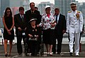 US Navy 050716-N-7130B-067 Family members arrive for a memorial service for retired Vice Adm. James B. Stockdale aboard the Nimitz-class aircraft carrier USS Ronald Reagan (CVN 76).jpg