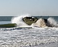 US Navy 070330-N-0841E-051 An amphibious assault vehicle (AAV) returns to amphibious transport dock USS Ponce (LPD 15) in support of a Kearsarge Expeditionary Strike Group (ESG) Integrated Training Exercise.jpg
