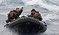 US Navy 111006-N-MW330-551 Marines assigned to the 31st Marine Expeditionary Unit (31st MEU) operate combat rubber reconnaissance crafts.jpg