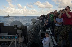 US Navy 120212-N-OY799-264 U.S. Navy ships are underway as part of the John C. Stennis Carrier Strike Group.jpg