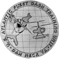 US Navy Atlantic Fleet DASH training unit Dam Neck insignia 1965.png