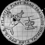 US Navy Atlantic Fleet DASH training unit Dam Neck insignia 1965.png