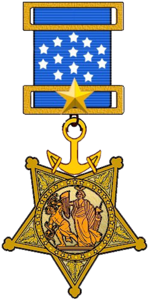 Ralph Talbot - Image: US Navy Medal of Honor (1913 to 1942)