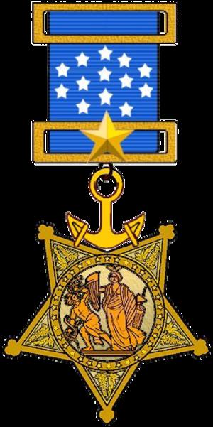 Thomas Eadie - Image: US Navy Medal of Honor (1913 to 1942)