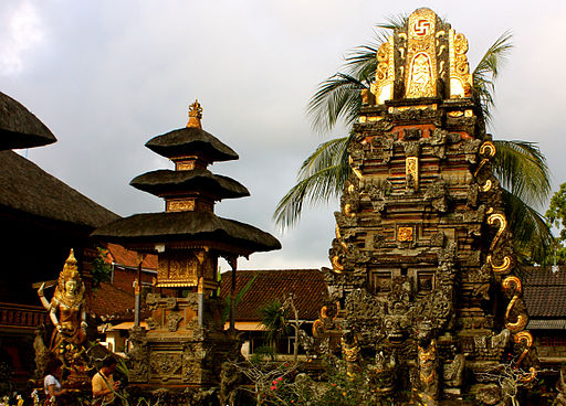 Ubud, Pura Taman Saraswati (6827593602)