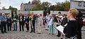 Uczestnicy uroczystości 5-lecia Pomnika Sprawiedliwych MZW DSC03728.jpg