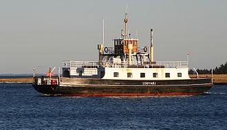 Randers Fjord - Image: Udbyhøjfærgen