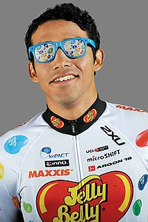 Ulises Alfredo Castillo Mexican road cyclist