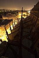 Ultra grand angle et plans architecturaux sur Notre-Dame de Paris - Arcs-boutants.jpg