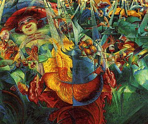 1911 in art - Image: Umberto Boccioni Laughter