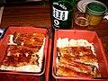 Unaju and beer by cathykid in Taipei.jpg