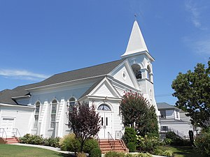 Cape May Court House, New Jersey - First United Methodist Church, next to the old courthouse