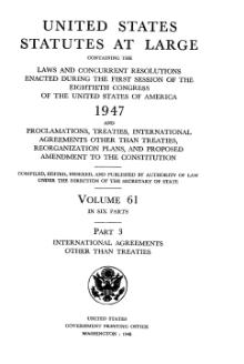 United States Statutes at Large Volume 61 Part 3.djvu