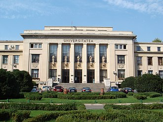 University of Bucharest - The Faculty of Law of The University of Bucharest