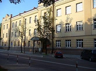 University of Białystok - Faculty of Law (ulica Mickiewicza 1)