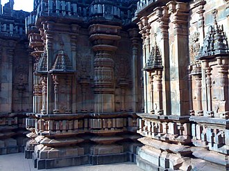 Dharwad district - Chandramouleshwara temple at Unkal Hubli-Dharwad
