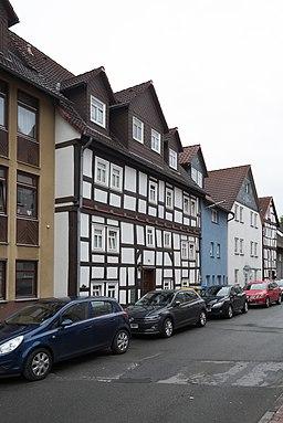 Untergasse in Frankenberg (Eder)