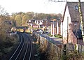 Upholland (1st) railway station (site), Lancashire (geograph 5204442).jpg
