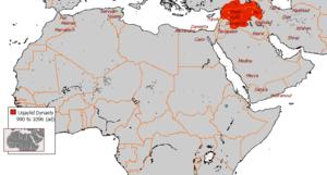 History of Shia Islam - Image: Uqaylid Dynasty 990 1096 (AD)