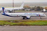 Ural Airlines, VP-BVP, Airbus A321-211 (30267870555).jpg
