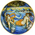 Urbino Venus and Cupid on dolphins.jpg