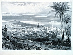 San Cristóbal de La Laguna - San Cristóbal de La Laguna in 1880